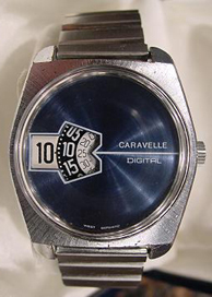 Caravelle Jump Hour Watch