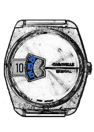 Caravelle Jump Hour Watch  - Notes