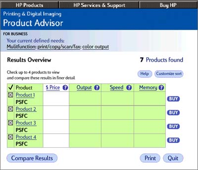 HP PDI - low res UI